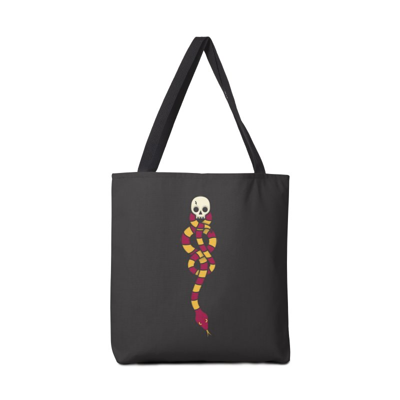 The Dark Scarf - Courage Accessories Tote Bag Bag by Quick Brown Fox