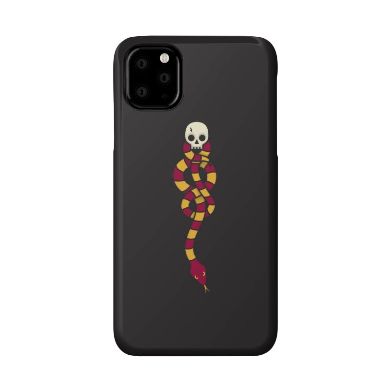 The Dark Scarf - Courage Accessories Phone Case by Quick Brown Fox