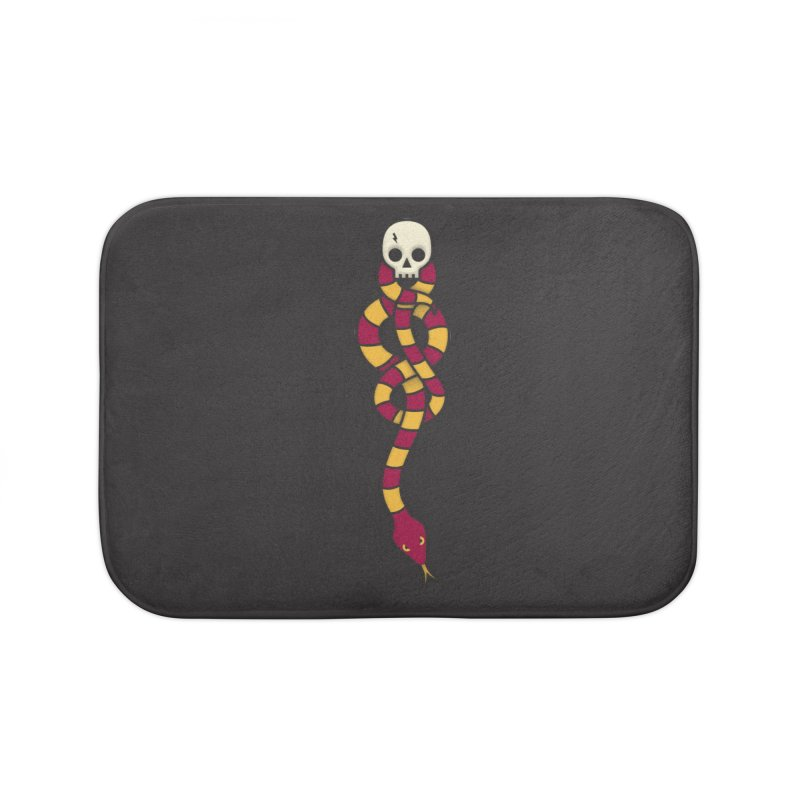 The Dark Scarf - Courage Home Bath Mat by Quick Brown Fox