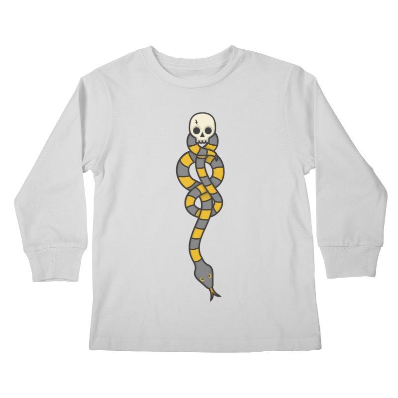 The Dark Scarf - Loyalty Kids Longsleeve T-Shirt by Quick Brown Fox