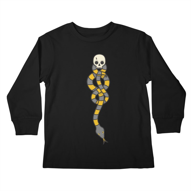 The Dark Scarf - Loyalty Kids Longsleeve T-Shirt by Quick Brown Fox