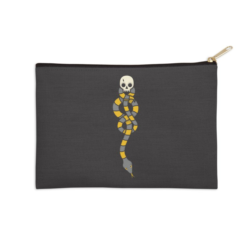 The Dark Scarf - Loyalty Accessories Zip Pouch by Quick Brown Fox