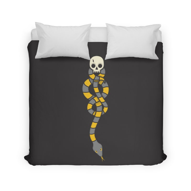 The Dark Scarf - Loyalty Home Duvet by Quick Brown Fox