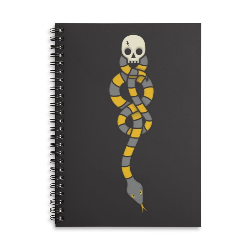 The Dark Scarf - Loyalty Accessories Lined Spiral Notebook by Quick Brown Fox