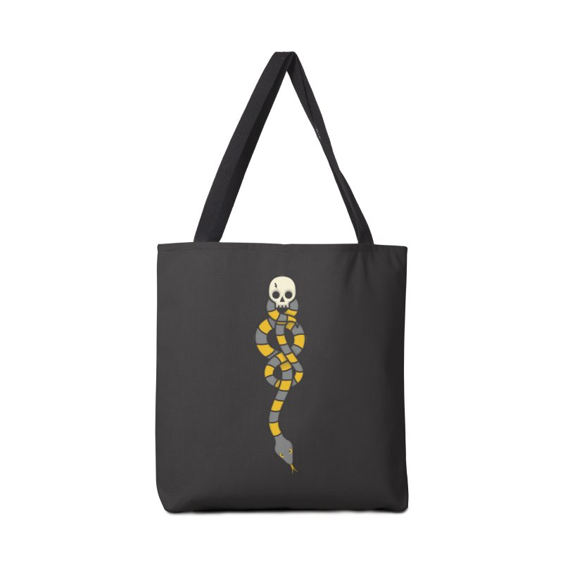 The Dark Scarf - Loyalty Accessories Tote Bag Bag by Quick Brown Fox