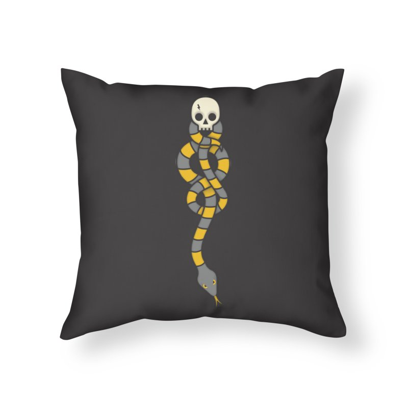 The Dark Scarf - Loyalty Home Throw Pillow by Quick Brown Fox