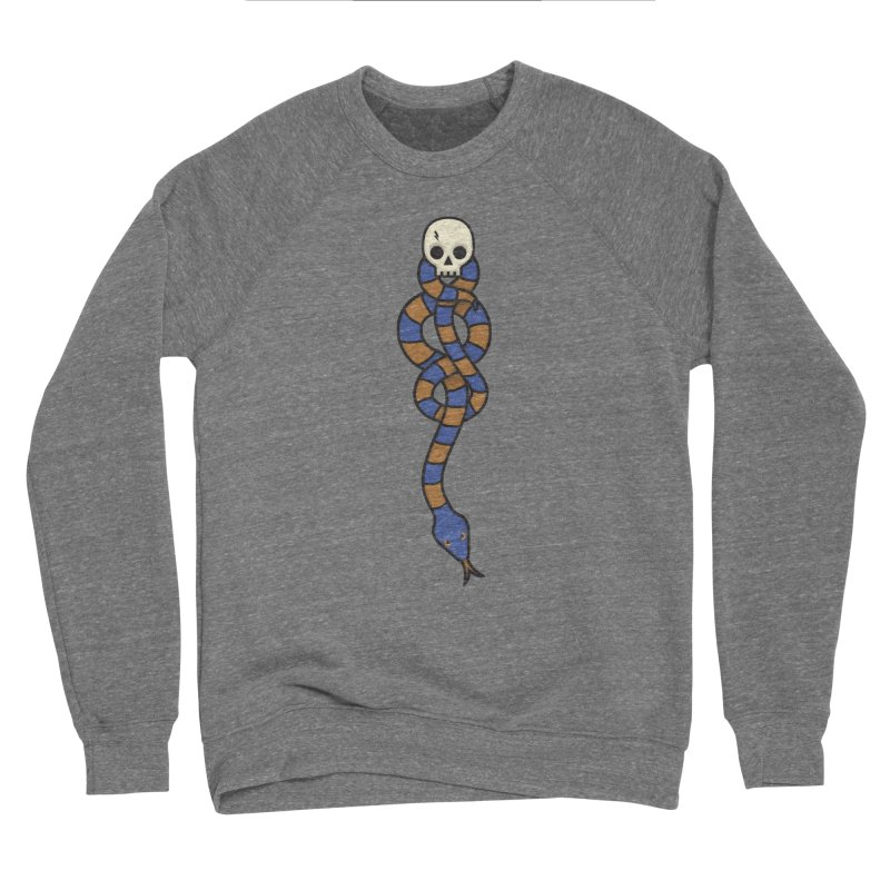 The Dark Scarf - Intelligence Men's Sweatshirt by Quick Brown Fox