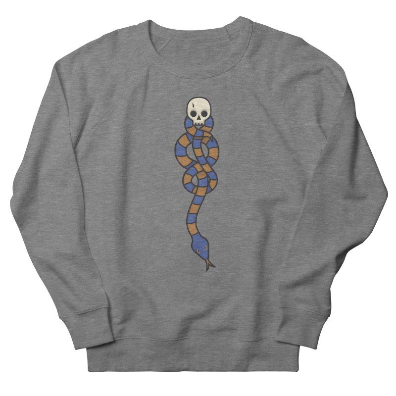 The Dark Scarf - Intelligence Men's French Terry Sweatshirt by Quick Brown Fox