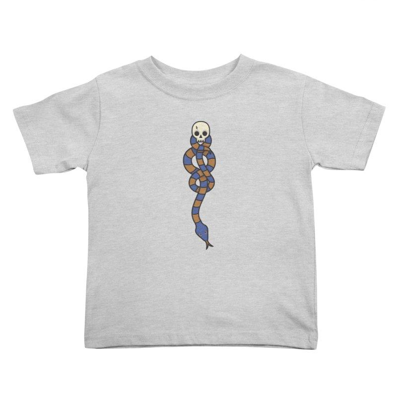 The Dark Scarf - Intelligence Kids Toddler T-Shirt by Quick Brown Fox