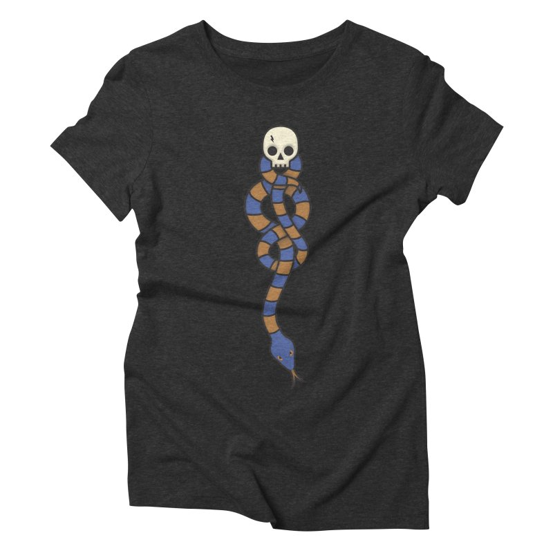 The Dark Scarf - Intelligence Women's Triblend T-Shirt by Quick Brown Fox