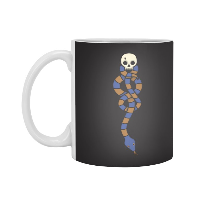 The Dark Scarf - Intelligence Accessories Mug by Quick Brown Fox