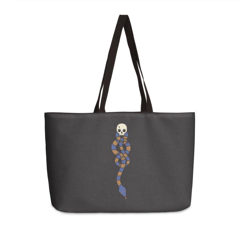 The Dark Scarf - Intelligence Accessories Weekender Bag Bag by Quick Brown Fox