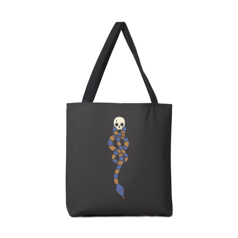 The Dark Scarf - Intelligence Accessories Tote Bag Bag by Quick Brown Fox