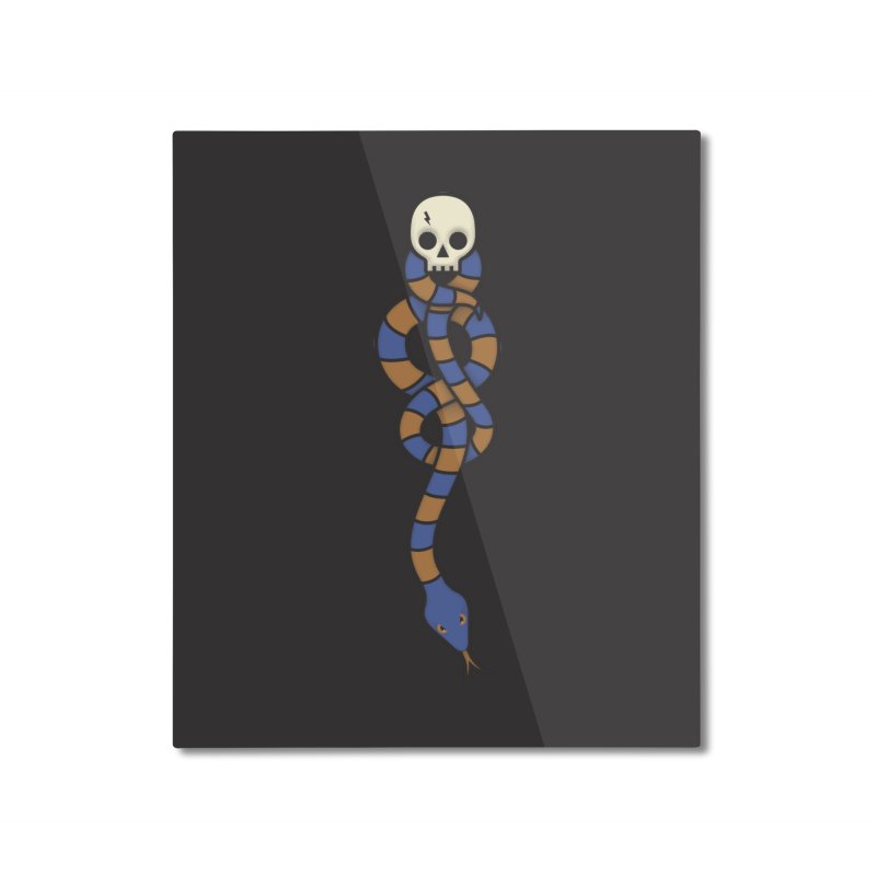 The Dark Scarf - Intelligence Home Mounted Aluminum Print by Quick Brown Fox
