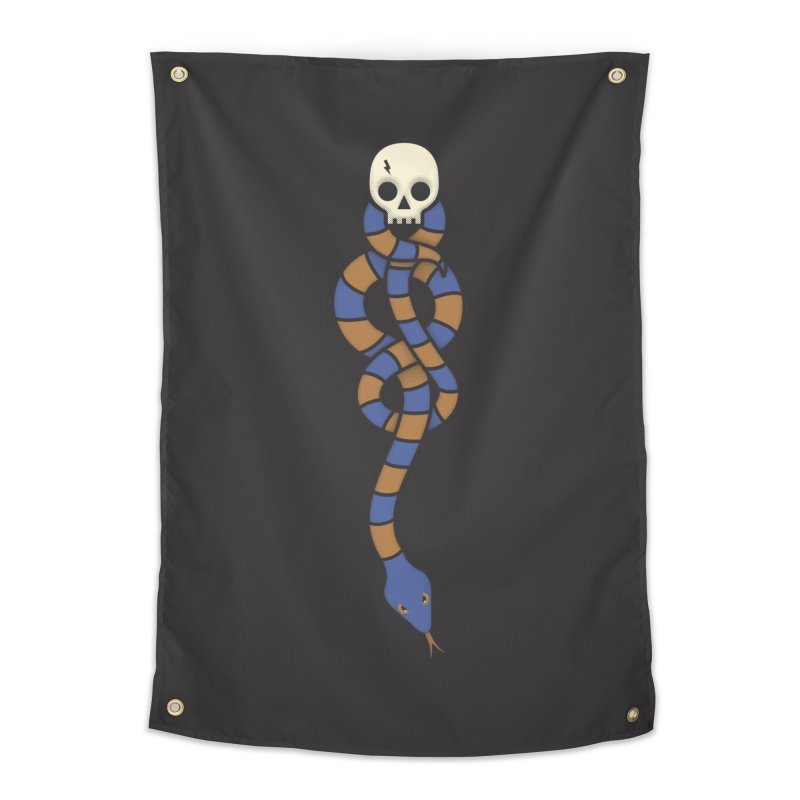 The Dark Scarf - Intelligence Home Tapestry by Quick Brown Fox