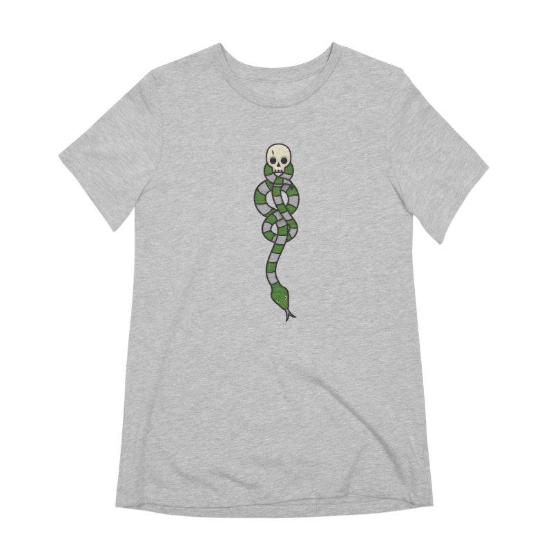 The Dark Scarf - Cunning Women's T-Shirt by Quick Brown Fox