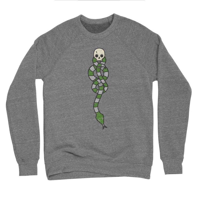 The Dark Scarf - Cunning Men's Sweatshirt by Quick Brown Fox