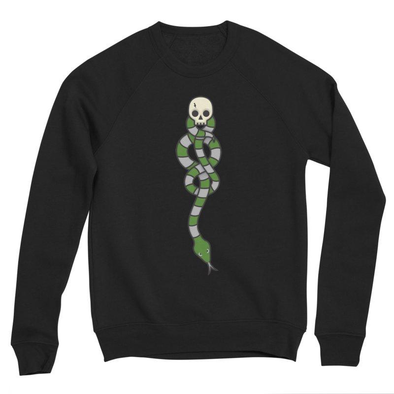 The Dark Scarf - Cunning Men's Sponge Fleece Sweatshirt by Quick Brown Fox