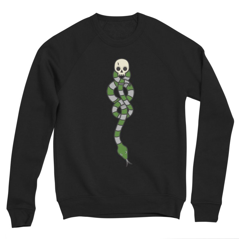 The Dark Scarf - Cunning Women's Sponge Fleece Sweatshirt by Quick Brown Fox