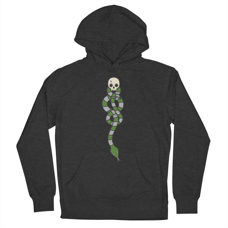 The Dark Scarf - Cunning Men's Pullover Hoody by Quick Brown Fox