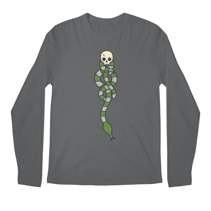 The Dark Scarf - Cunning Men's Regular Longsleeve T-Shirt by Quick Brown Fox