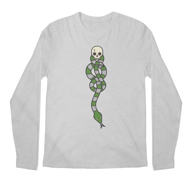 The Dark Scarf - Cunning Men's Regular Longsleeve T-Shirt by Quick Brown Fox