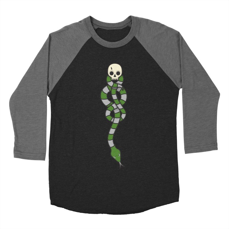 The Dark Scarf - Cunning Women's Baseball Triblend Longsleeve T-Shirt by Quick Brown Fox
