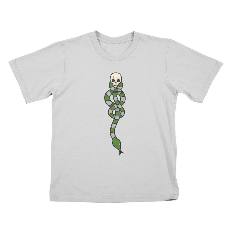 The Dark Scarf - Cunning Kids T-Shirt by Quick Brown Fox