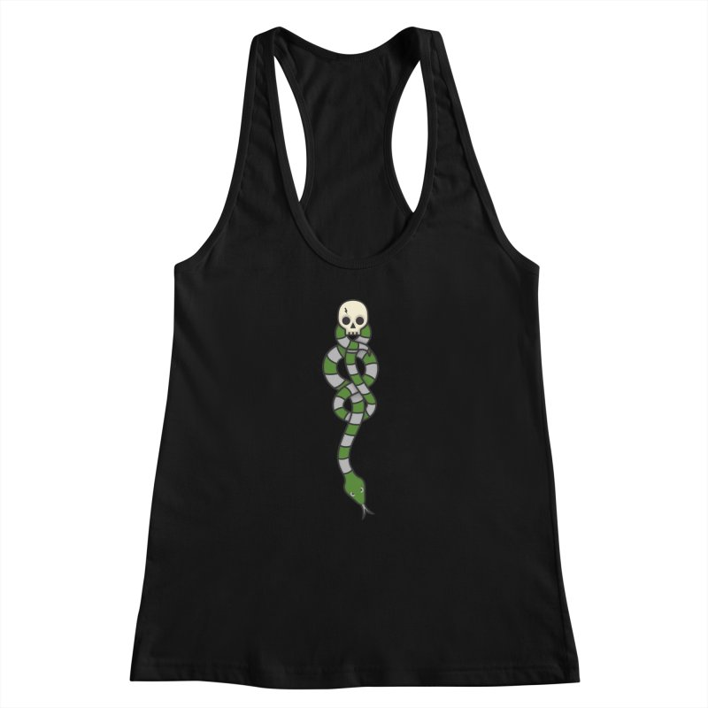 The Dark Scarf - Cunning Women's Racerback Tank by Quick Brown Fox