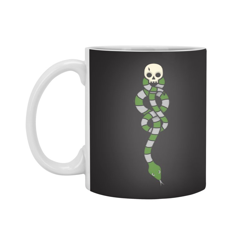 The Dark Scarf - Cunning Accessories Mug by Quick Brown Fox