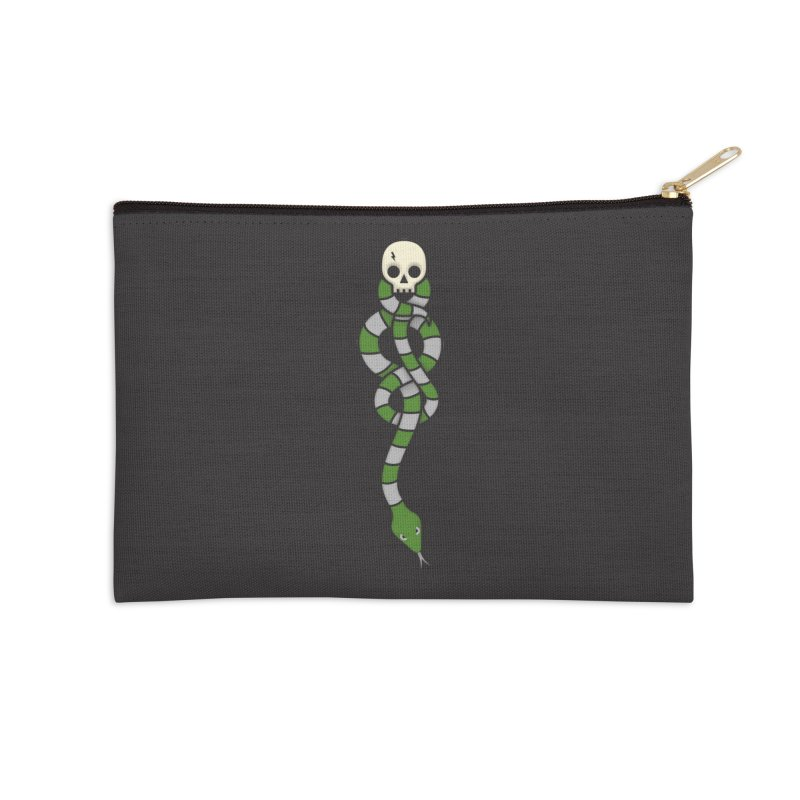 The Dark Scarf - Cunning Accessories Zip Pouch by Quick Brown Fox