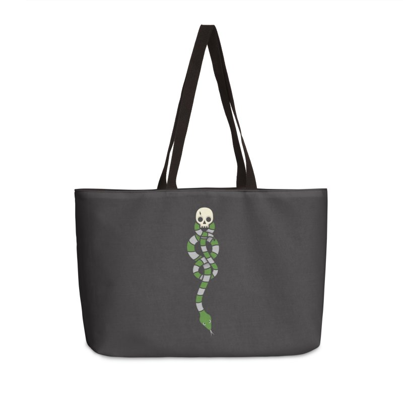 The Dark Scarf - Cunning Accessories Weekender Bag Bag by Quick Brown Fox