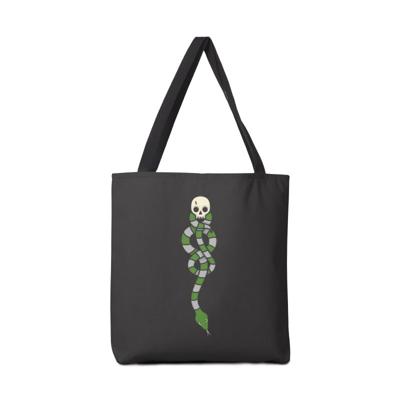 The Dark Scarf - Cunning Accessories Tote Bag Bag by Quick Brown Fox