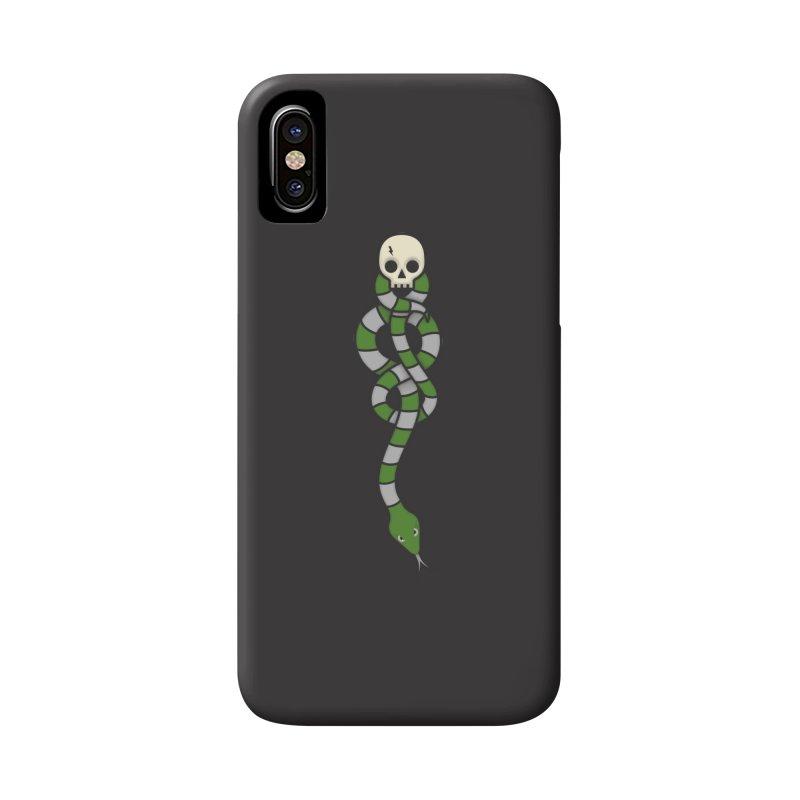 The Dark Scarf - Cunning Accessories Phone Case by Quick Brown Fox
