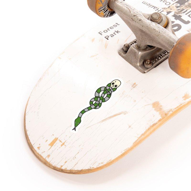 The Dark Scarf - Cunning Accessories Sticker by Quick Brown Fox