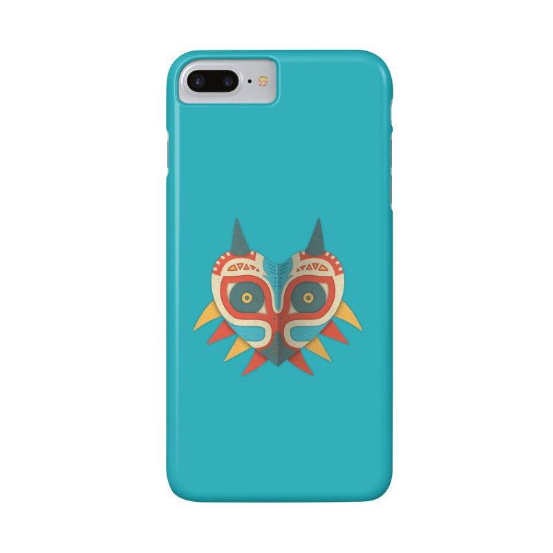 A Legendary Mask Accessories Phone Case by Quick Brown Fox