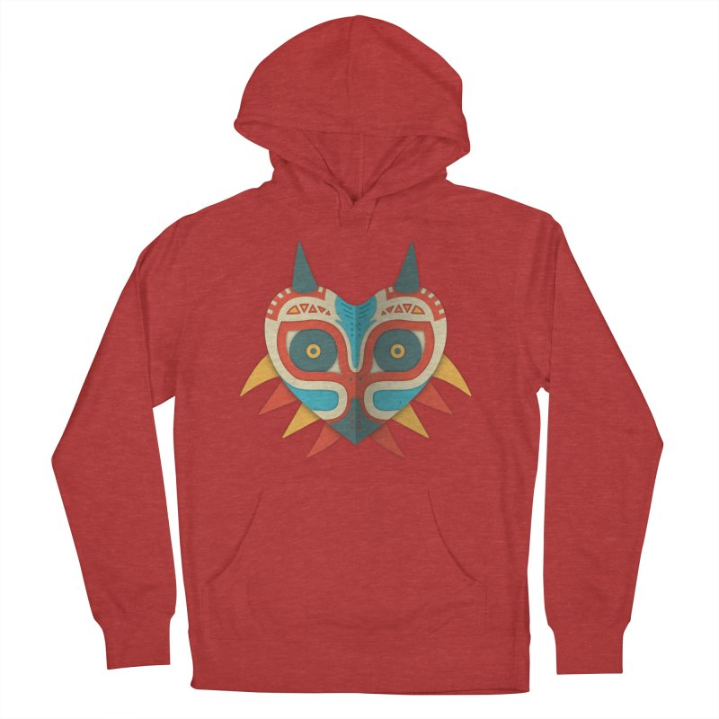 A Legendary Mask Women's Pullover Hoody by Quick Brown Fox
