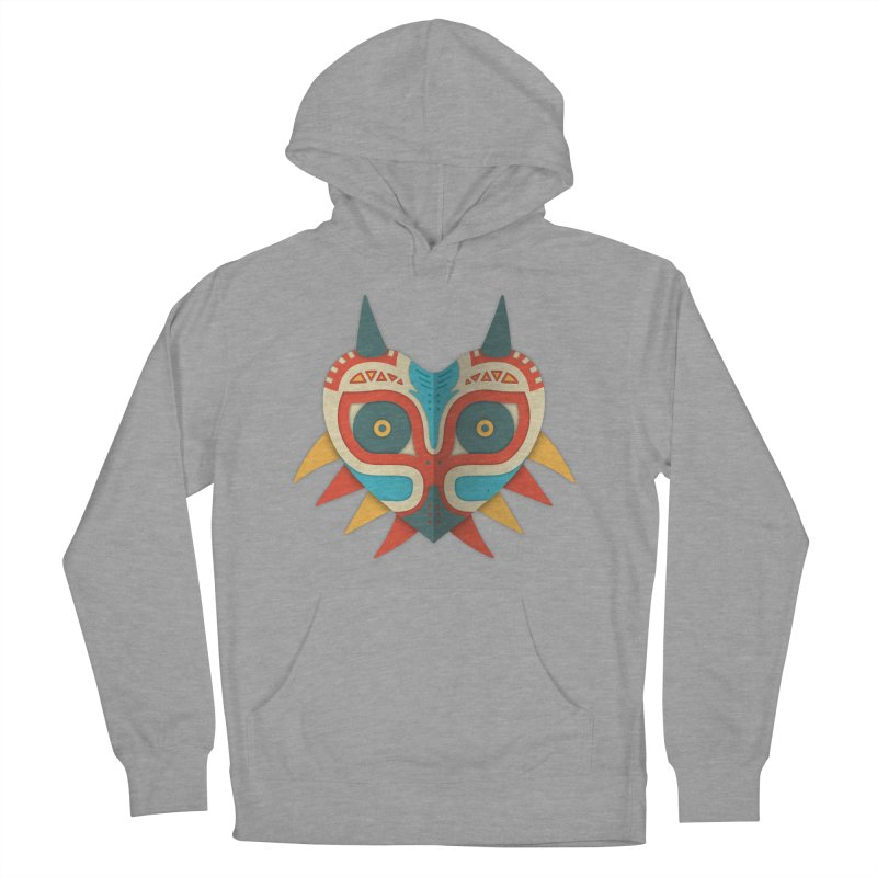 A Legendary Mask Men's Pullover Hoody by Quick Brown Fox