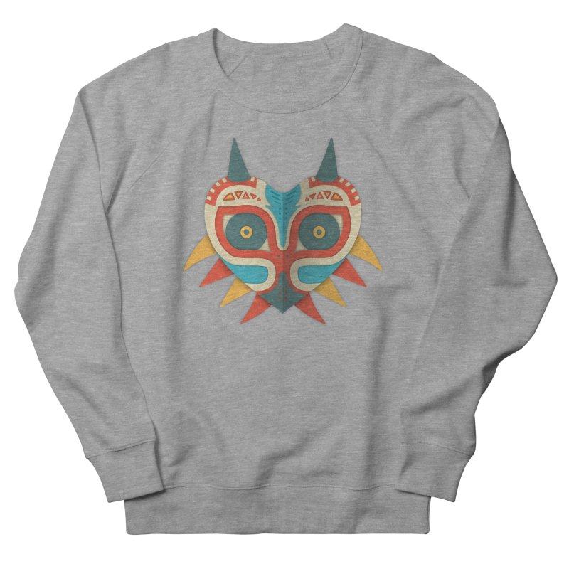 A Legendary Mask Men's Sweatshirt by Quick Brown Fox