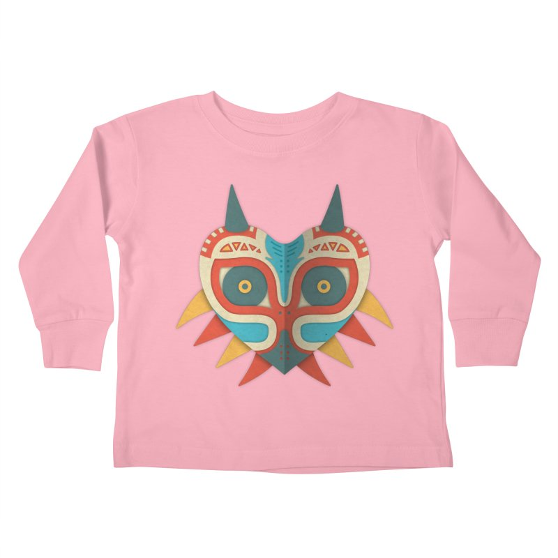 A Legendary Mask Kids Toddler Longsleeve T-Shirt by Quick Brown Fox
