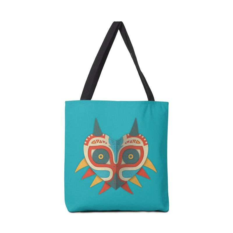 A Legendary Mask Accessories Bag by Quick Brown Fox