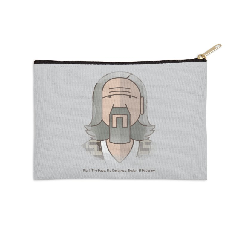 Sometimes There's A Man… Accessories Zip Pouch by Quick Brown Fox