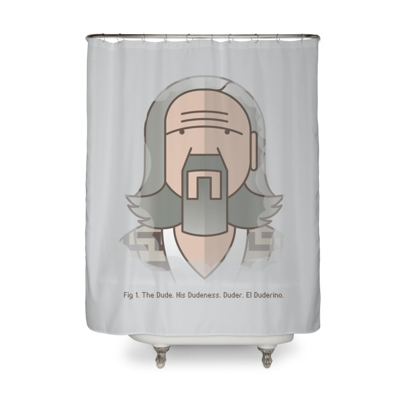 Sometimes There's A Man… Home Shower Curtain by Quick Brown Fox