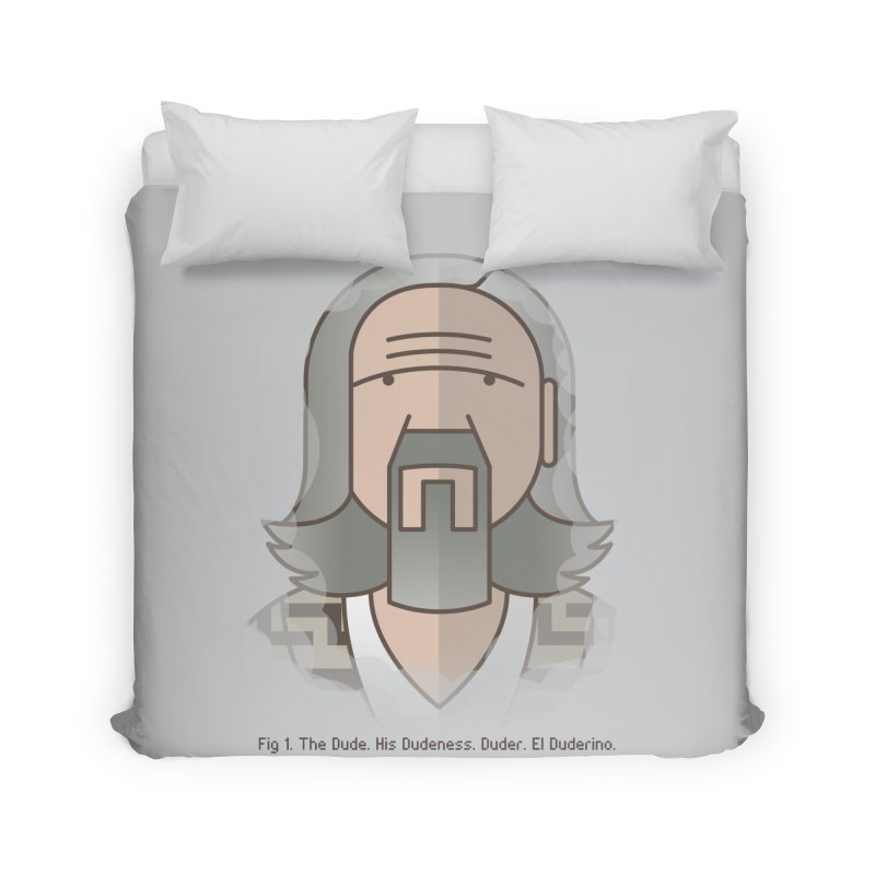 Sometimes There's A Man… Home Duvet by Quick Brown Fox