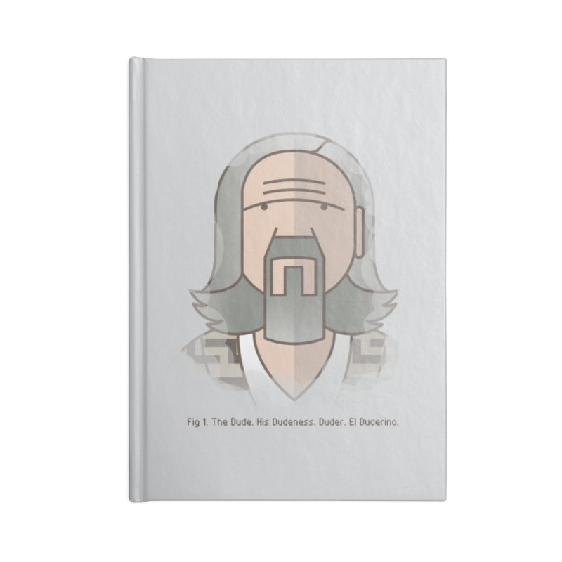 Sometimes There's A Man… Accessories Blank Journal Notebook by Quick Brown Fox