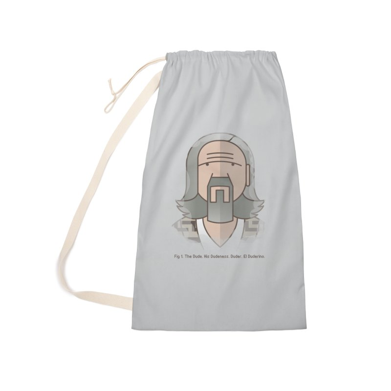 Sometimes There's A Man… Accessories Laundry Bag Bag by Quick Brown Fox