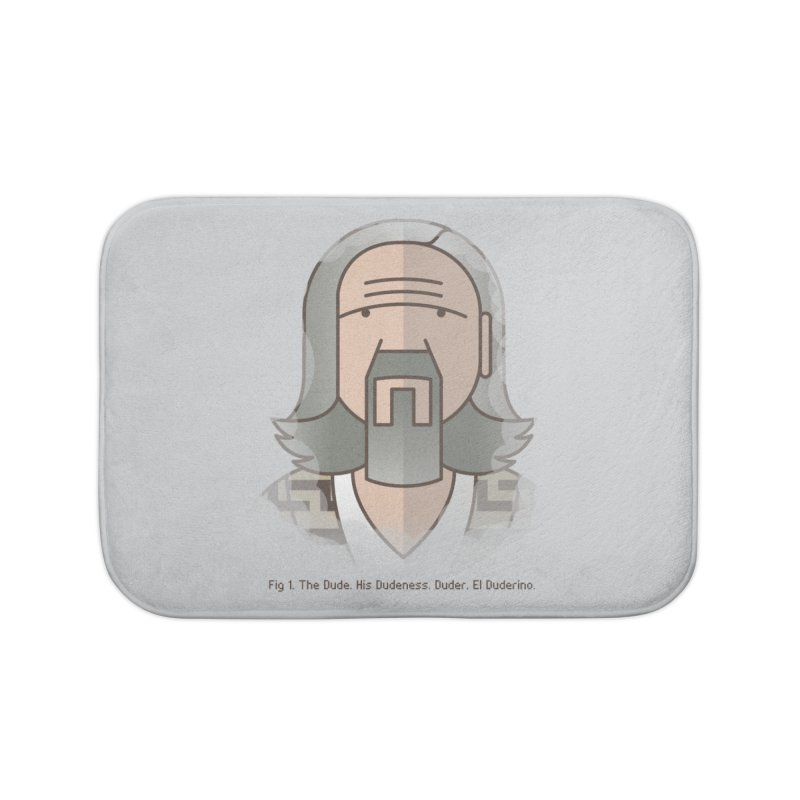 Sometimes There's A Man… Home Bath Mat by Quick Brown Fox