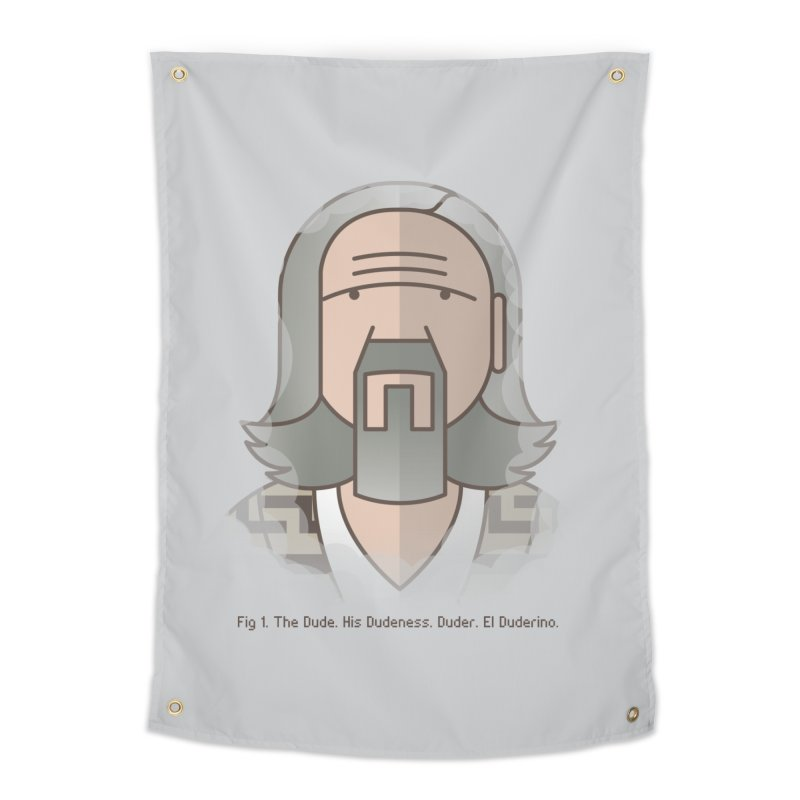 Sometimes There's A Man… Home Tapestry by Quick Brown Fox