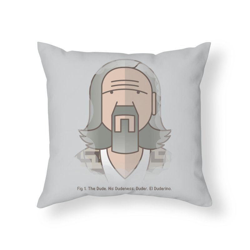 Sometimes There's A Man… Home Throw Pillow by Quick Brown Fox