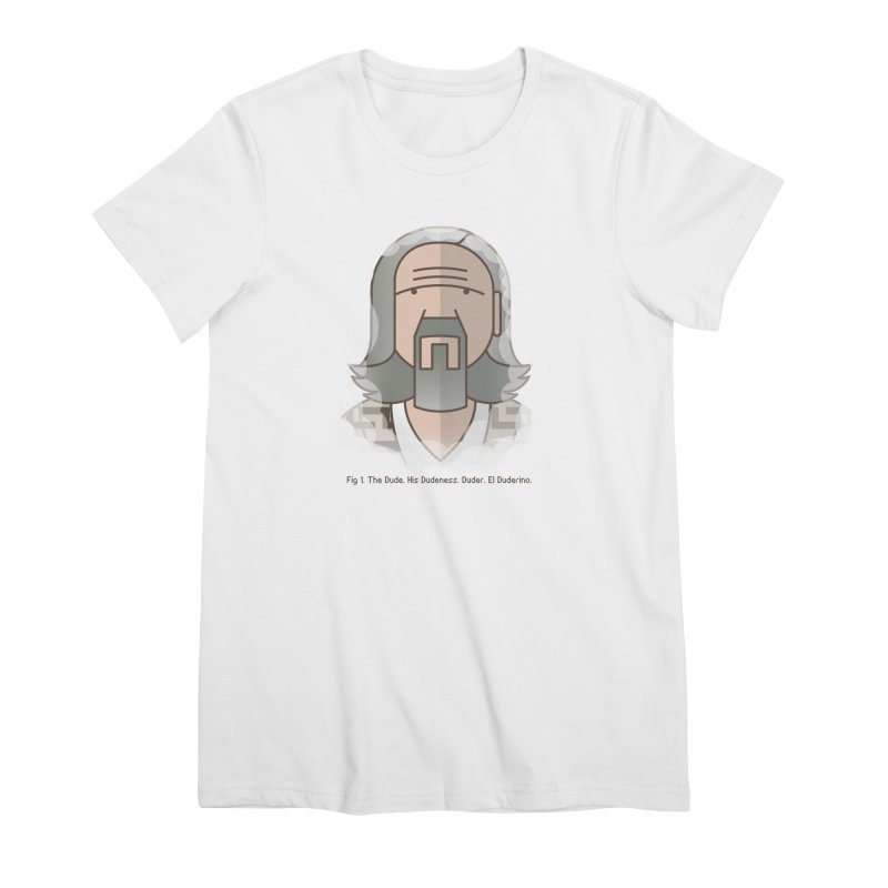 Sometimes There's A Man… Women's Premium T-Shirt by Quick Brown Fox
